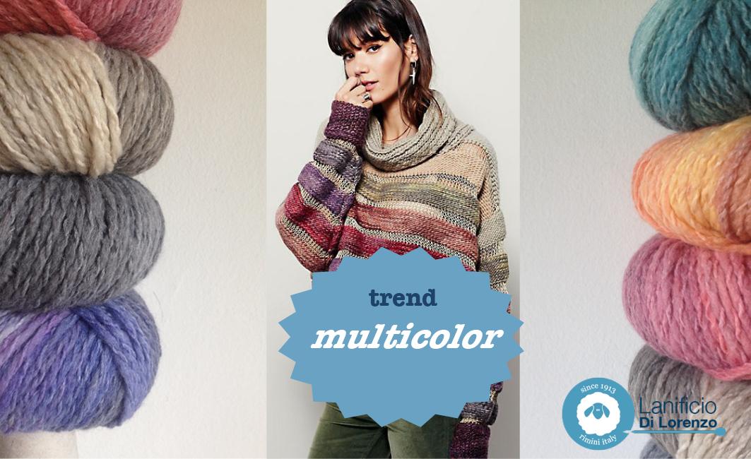 Modello Maglia Multicolor Blog Lanificio Di Lorenzo