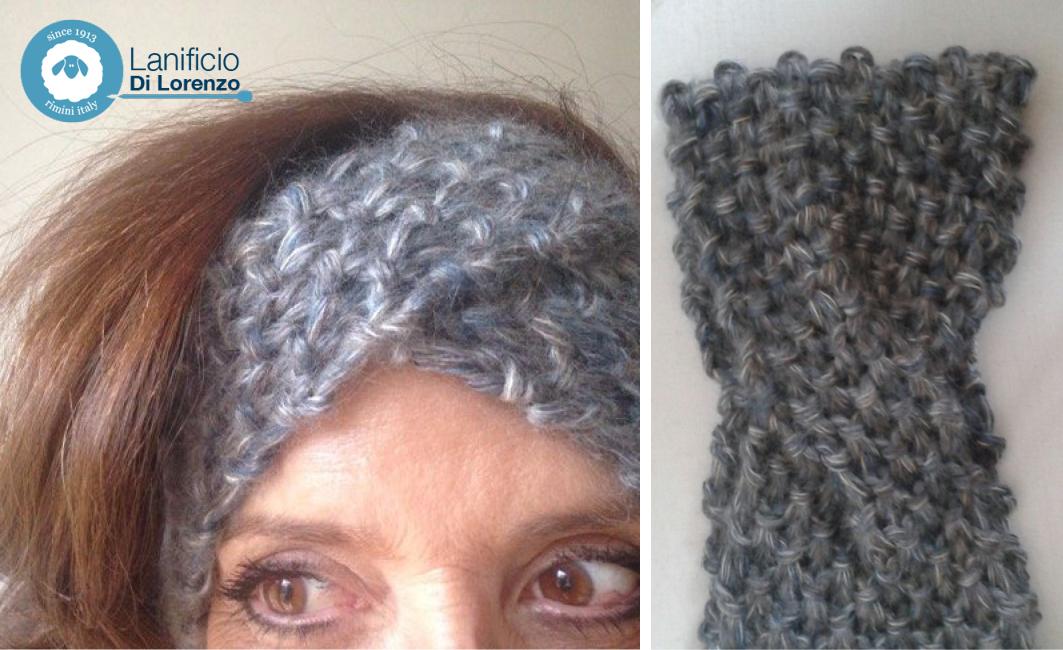 fascia per capelli ai ferri