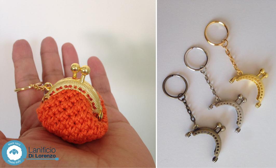 Favorito Chiusure clic clac, Portamonete crochet - Lanificio di Lorenzo WV87