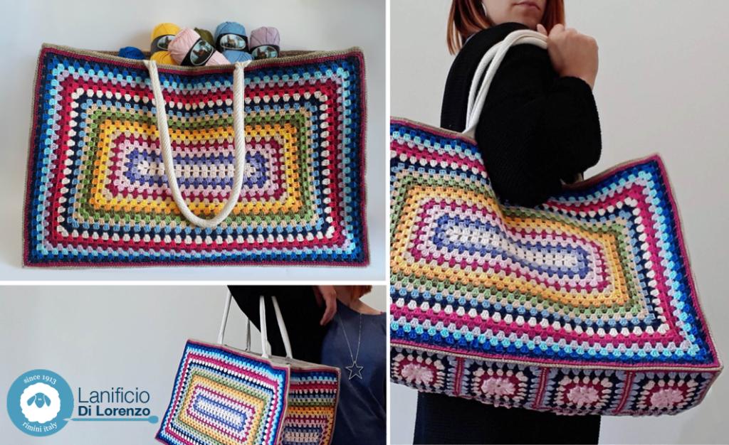 bag crochet borsa all'uncinetto
