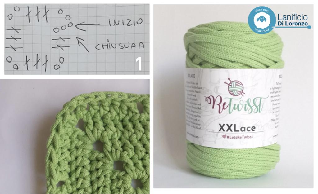 borsa crochet tutorial