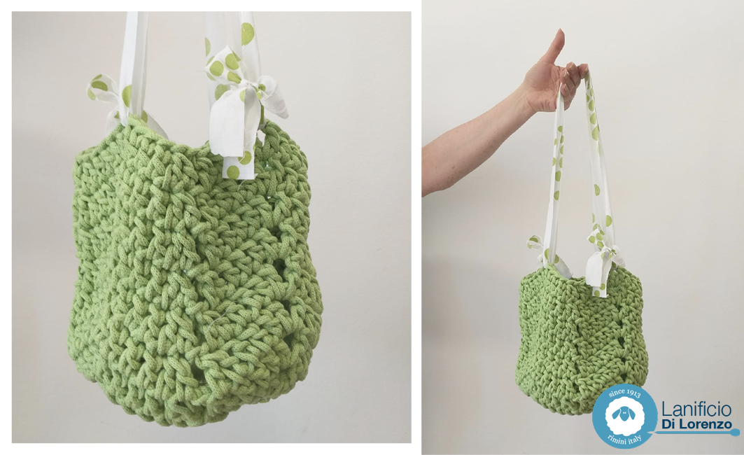 borsa crochet tutorial