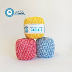 Cable 8 color Gr. 50  M.283