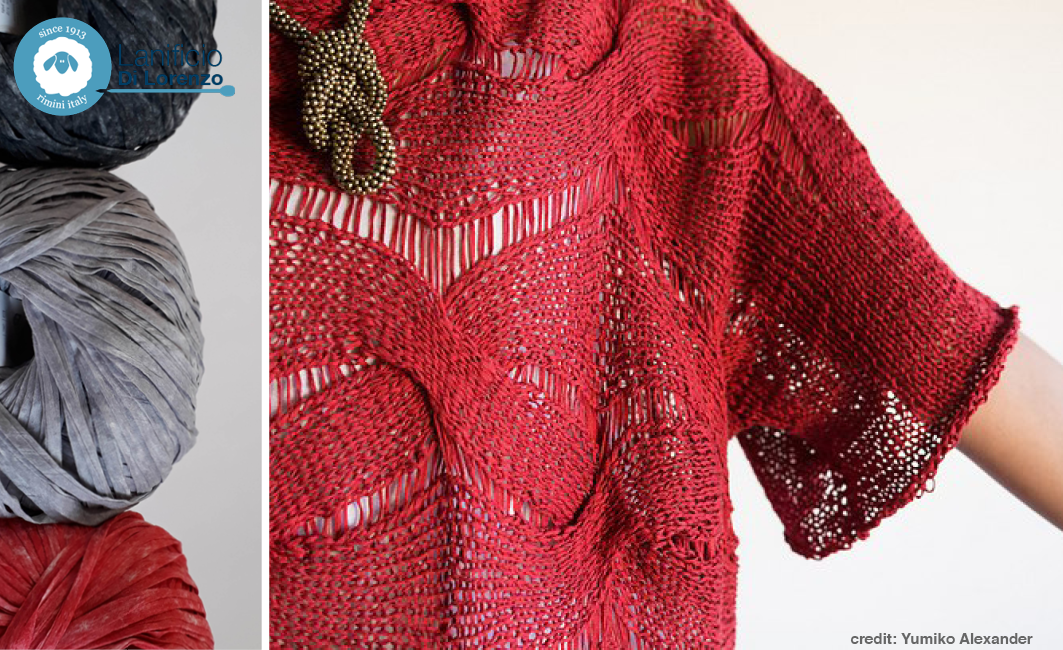 knitting fettuccia lanificio