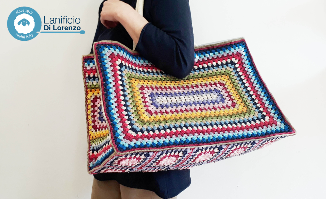 bag crochet borsa all'uncinetto
