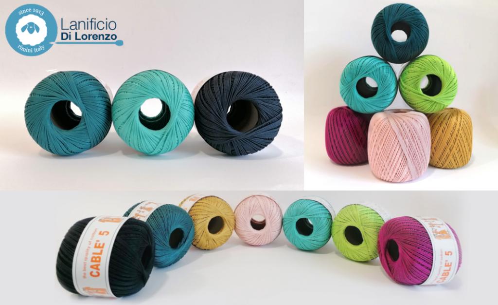 cotone makò, nuovi colori del cablè